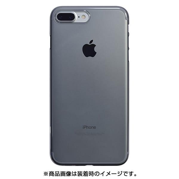 PBK-73 [エアージャケットセットfor iPhone 8 Plus/7 Plus クリアブラック]