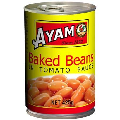 AYAM(アヤム) ベイクド・ビーンズ 425g