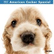 THE DOG カレンダー アメリカン コッカー スパニエル [2017年カレンダー]