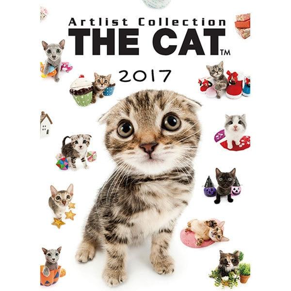 THE CAT 卓上カレンダー [2017年カレンダー]
