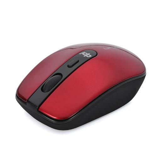 IM314GRD [The Silent Mouse(サイレント マウス) 2.4GHz 光学式ワイヤレスマウス 4ボタン DPI切替ボタン搭載 レッド]