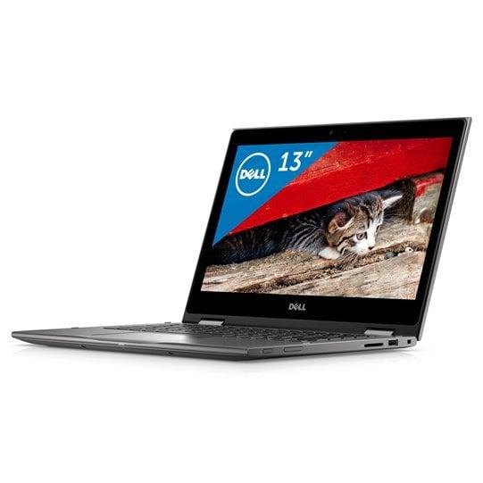 MI53C-6WHB [Inspiron 13 5000 2-in-1 5378 13.3型/Core i5-7200U/メモリ 8GB/SSD 256GB/ドライブレス/Windows 10 Home 64ビット/Microsoft Office Home & Business Premium/シルバー]