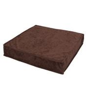 cushion-cyrus-pc300-br [低反発&チップウレタン積層クッション ブラウン]