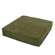cushion-cyrus-pc300-mgr [低反発&チップウレタン積層クッション モスグリーン]