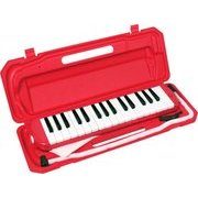 P3001-32K/RD [鍵盤ハーモニカ 32鍵盤 Melody Piano(メロディーピアノ) レッド]