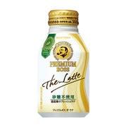プレミアムボス ザ・ラテ 〈砂糖不使用〉260gボトル缶×24本 [コーヒー飲料]