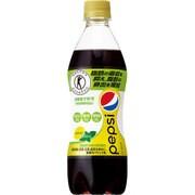 ペプシスペシャル レモンミント 490mlペット×24本 [特定保健飲料]