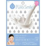 Pure Smile(ピュアスマイル) エッセンスマスク 乳液タイプ N012 ミルク [1枚]