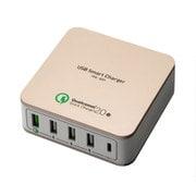 IPA-Q01/GD [QC2.0 Type-C対応USB-ACアダプタ ゴールド]