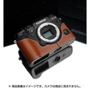 XS-CHXT2CM [富士フイルム X-T2用 本革カメラハーフケース キャメル]
