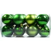 クリスマス ボールセット 50mm60mm グリーンミックス