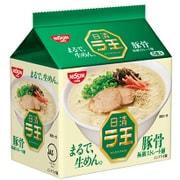 日清ラ王 豚骨 5食パック [即席袋麺]