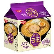 日清ラ王 豚骨醤油 5食パック [即席袋麺]