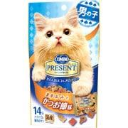 猫用 コンボプレゼント キャット おやつ 男の子 かつお節味 [42g(3g×14袋)]