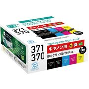 ECI-C371-5P  [BCI-371+370/5MP 互換リサイクルインクカートリッジ 5色パック]