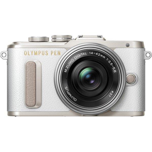 OLYMPUS PEN E-PL8 EZレンズキット ホワイト [ボディー+「M.ZUIKO DIGITAL ED 14-42mm F3.5-5.6 EZ」 ホワイト]