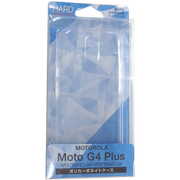 Moto G4 Plus用ポリカーボネイトケース クリア [SIMフリースマートフォン用ハードケース]