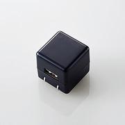 AVA-ACUAN007BK [デジタルオーディオプレイヤー用キューブ型AC充電器 1A出力/USB1ポート/ブラック]