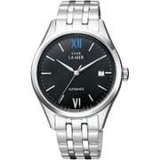 BJ6-011-51 [CLUB LA MER(クラブラメール) ステンレスバンド 機械式腕時計 ブラック]