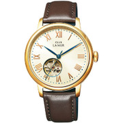 BJ7-026-10 [CLUB LA MER(クラブラメール) レザーバンド 機械式腕時計 ブラウン]