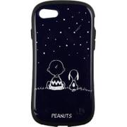 PEANUTS/ピーナッツ iFace First Classケース スヌーピー&チャーリー・ブラウン/ネイビー [iPhone SE(第2世代)/8/7 4.7インチ用ケース]