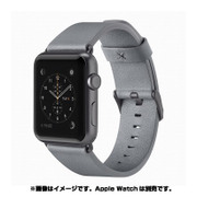 F8W731btC02 [Classic Leather Band for Apple Watch 38mm グレイ]