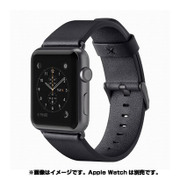 F8W732btC00 [Classic Leather Band for Apple Watch 42mm ブラック]