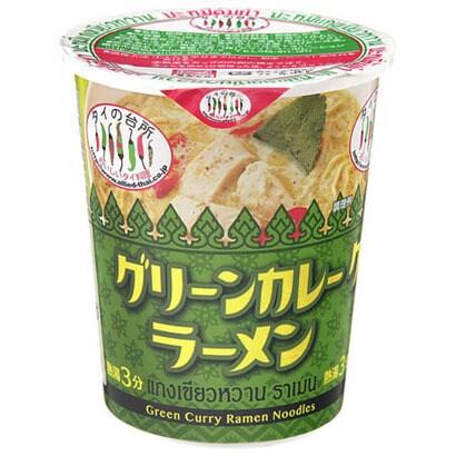 タイの台所 カップグリーンカレーラーメン 70g [即席カップ麺]