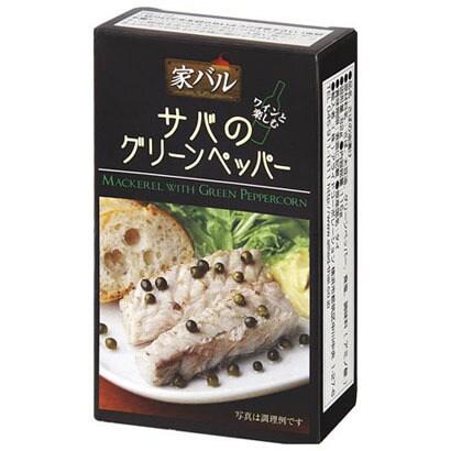 家バル サバのグリーンペッパー 115g [缶詰]