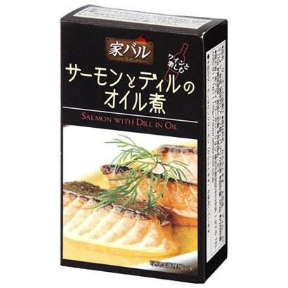 家バル サーモンとディルのオイル煮 115g [缶詰]