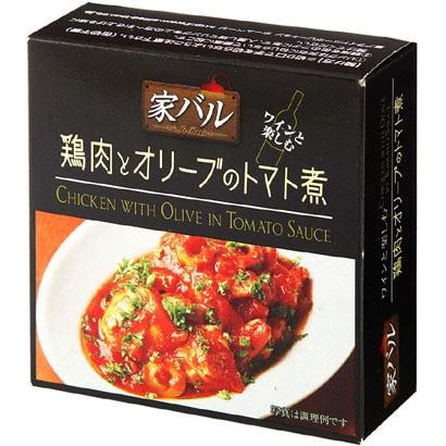 家バル 鶏肉とオリーブのトマト煮 125g [缶詰]
