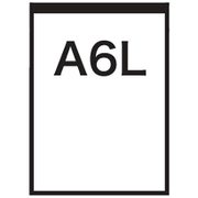 WH-A6L [A6Lサイズ ELシート ホワイト]