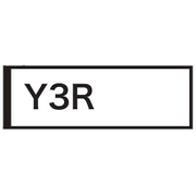 NRD-Y3R [Y3Rサイズ ELシート レッド]