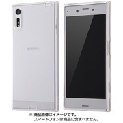 RT-RXPXZTC10/C [Xperia XZ TPUソフトケース コネクタキャップ付き クリア]