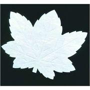 QKI93 [遠赤抗菌和紙 葉型四季懐紙(200枚) もみじ LF-M]
