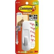 CM2LR [コマンドフック Lサイズ フック1コ・タブ4枚入]