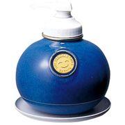 XSY344H [ウォッシュボン専用 陶器製容器(受皿付) MF-1 マリンブルー]
