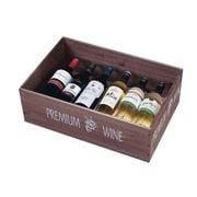 PWIL902 [陳列用木箱 W535 ワインN 茶 132-54]