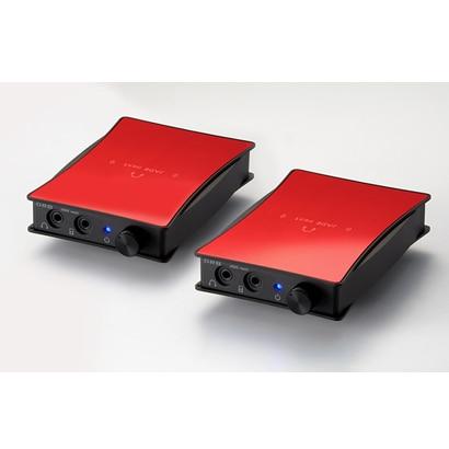 JADE next Ultimate bi power FitEar-Unbalanced (Red) [ポータブルヘッドフォンアンプ レッド]