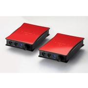 JADE next Ultimate bi power Custom IEM 2pin-Unbalanced (Red) [ポータブルヘッドフォンアンプ レッド]