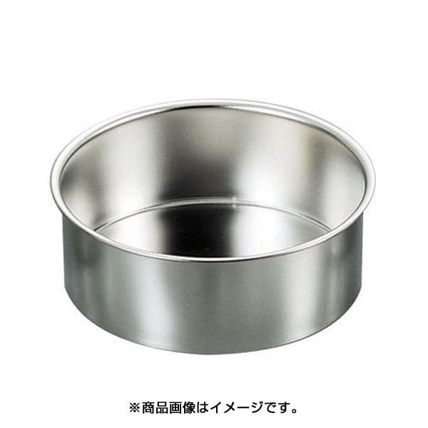WDK02021 [SA18-8総絞りチーズケーキ用デコ共底 深型 21cm]
