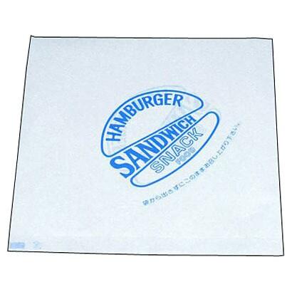 XBC2201 [バーガー袋(500枚入) 青 00031]