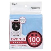 DVD-004-050MIX [DVD/CD用 タイトル付き 両面 不織布 50枚 カラーミックス]