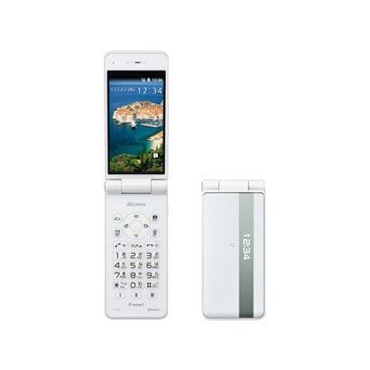 P-smart ケータイ P-01J(W) [携帯電話 ホワイト]