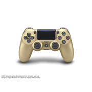 プレイステーション4 ワイヤレスコントローラー DualShock 4 ゴールド [CUH-ZCT2J14]