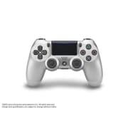 プレイステーション4 ワイヤレスコントローラー DualShock 4 シルバー [CUH-ZCT2J15]