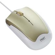 MUS-UKT124GL [有線 静音 3ボタン BLUE LED マウス ゴールド]