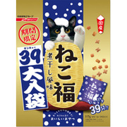 猫用 ねこ福 39大入り袋 期間限定 煮干し風味 [117g(3g×39袋)]