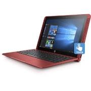 Y4G68PA#ABJ [HP x2 10-p005TU スタンダードプラスモデル 10.1インチワイド/Atom x5-Z8350/メモリ4GB/eMMC 64GB/ドライブレス/Windows 10 Home 64ビット/Microsoft Office Mobile プラス Office365 サービス/カーディナルレッド]