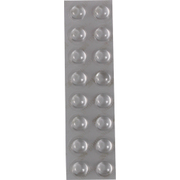 CS03 [しっかりつくクッションゴム 11.2mm径×5.1mm 丸形 16粒入り]
